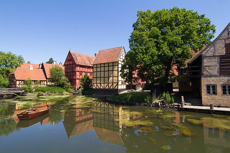 Den Gamle By in Aarhus, Dänemark