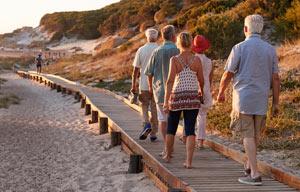 Ferienhäuser für Seniorengruppen