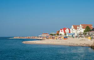 Urlaub am Strand, ein Ferienhaus am Meer